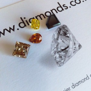 Coloured Diamonds (2)