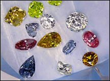 Colour Treated Diamonds