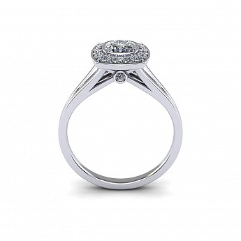 Engagement Rings - The Fleur Setting