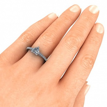 Engagement Rings - Eden Ring Setting