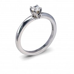 0.26ct Round Solitaire