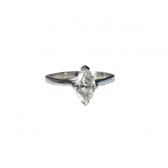 0.90ct Marquise Diamond Solitaire