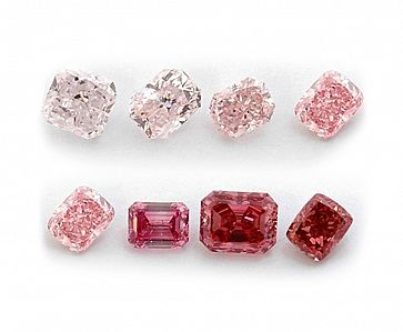 Colour Diamonds: Pink